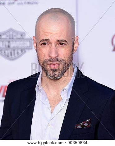 LOS ANGELES - APR 14:  Chris Daughtry arrives to the Marvel's