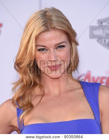 LOS ANGELES - APR 14:  Adrianne Palicki arrives to the Marvel's