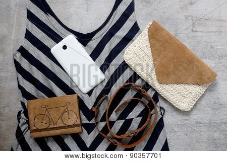 Outfit Of Casual Woman.