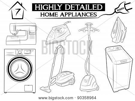 home  appliance blue