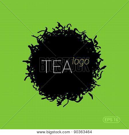 Modern logo for tea shop, teahouse or company.