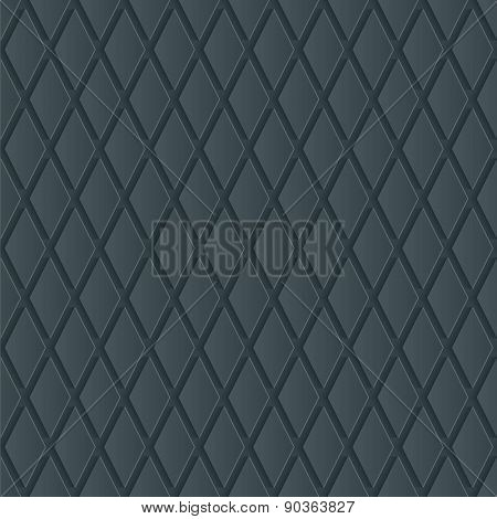 Dark gray wallpaper. 3d seamless background. Vector EPS10.