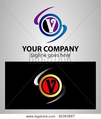 Letter V logo icon
