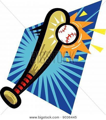 Baseball Bat Hit