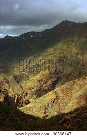 Parque Natural de Pilancones in Gran Canaria, Canary Islands, Spain