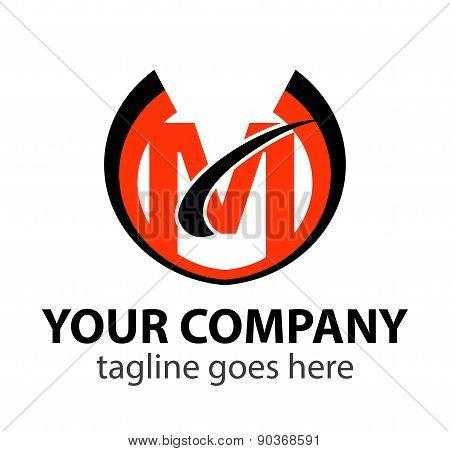 Letters Set M logo icon