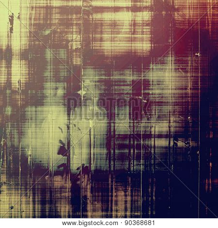 Abstract retro background or old-fashioned texture. With different color patterns: brown; gray; black; purple (violet)