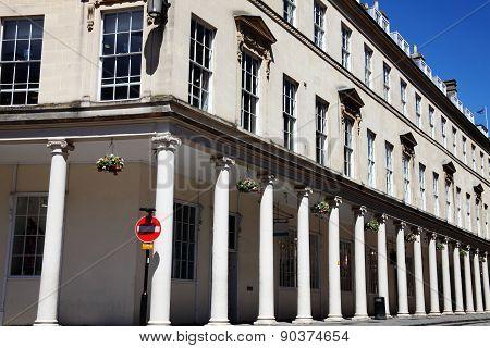 Bath Street in Bath, Somerset