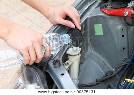 fill the Wiper Fluid in tank