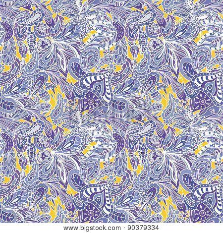 Bright Summer Textile Pattern
