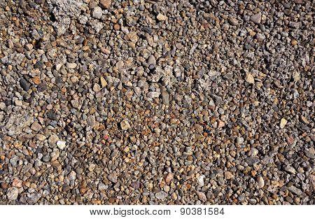 Crushed stone, gravel, rocks,