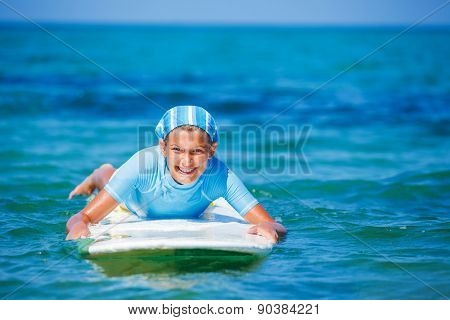 Girl with surf