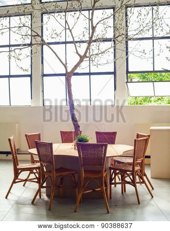 View Of Restaurant Table