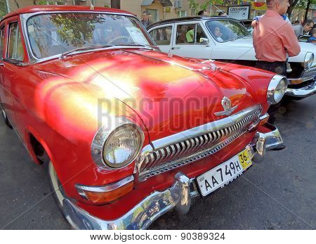 Soviet Executive Cars Of 1960S Gaz M21 Volga
