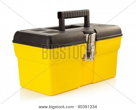 toolbox isolated on white background