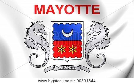 Department Of Mayotte Flag