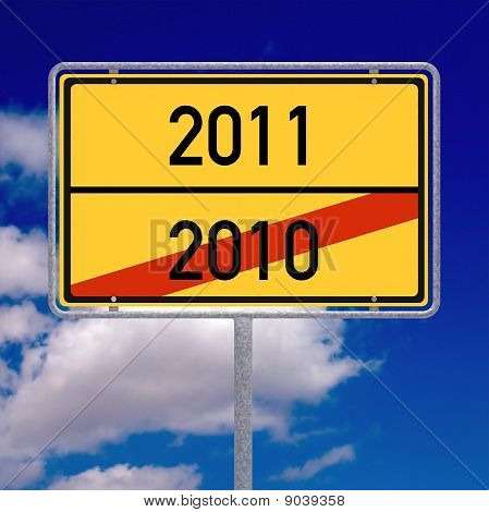 Leaving 2010 Entering 2011