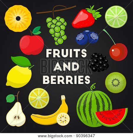 Fresh Organic Fruits And Berries