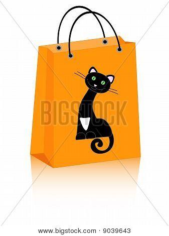 Halloween Bag Cat