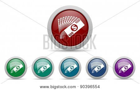 money icon cash symbol