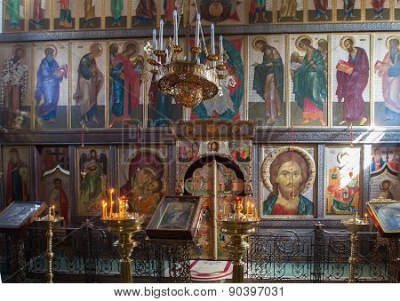 The Iconostasis Of The Russian Orthodox Church