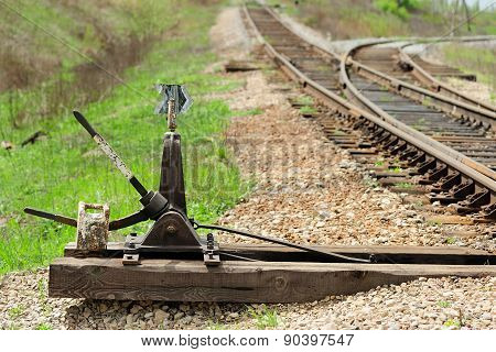 Old Railroad Switch