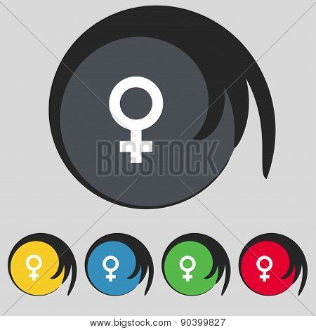 Symbols Gender, Female, Woman Sex