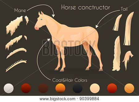 Create your own horse design withconstructor.