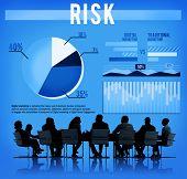pic of hazard  - Risk Danger Hazard Problem Choice Concept - JPG