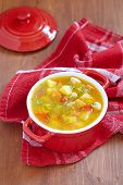 pic of celery  - Chicken soup with potato - JPG