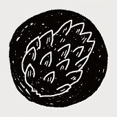 picture of custard  - Custard Apple Doodle - JPG