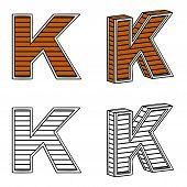 pic of letter k  - Letter K  - JPG