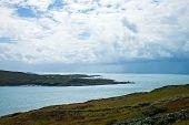 stock photo of atlantic ocean  - A view of the Atlantic Ocean off the West Coast of Ireland - JPG