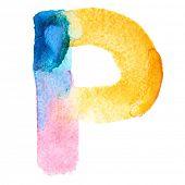 foto of letter p  - Letter P  - JPG