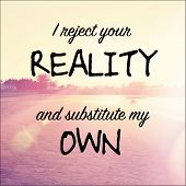picture of substitutes  - Inspirational Typographic Quote  - JPG