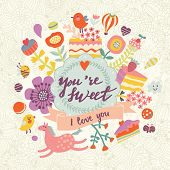 picture of you are awesome  - You are sweet  - JPG