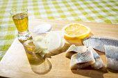pic of food chain  - Fillet herring with lemon - JPG
