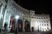 pic of edwardian  - Admiralty Arch at night  - JPG