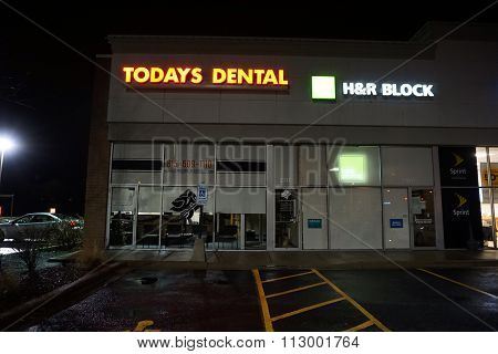 Today's Dental and H&R Block