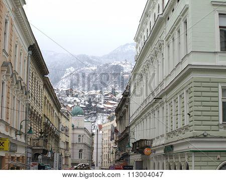 Sarajevo Under Snow
