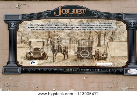 Pilcher Park Historic Marker