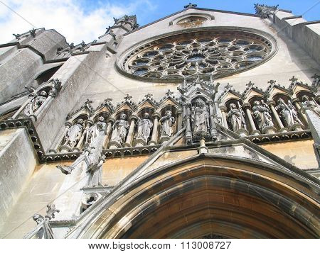 Exterior Outdoor Photo Of A Church Cathedral