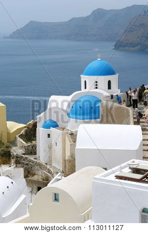 Church on Santorini Island.