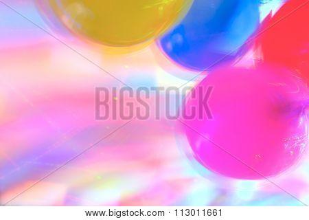 Disco Highlights And Air Baloons