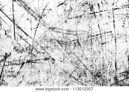 Black and white abstract textured background