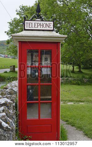 Restored Telephone Kiosk