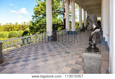 Inside View Of The Cameron Gallery In Catherine's Park In Pushkin (tsarskoe Selo), Russia