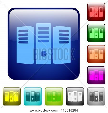 Color Server Hosting Square Buttons