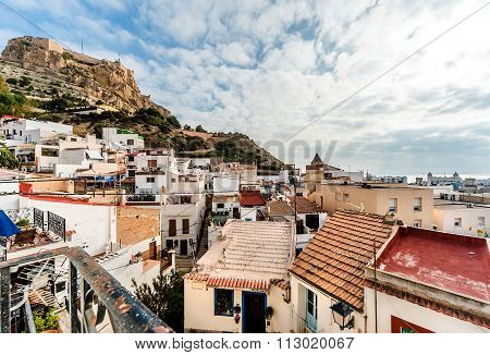 Alicante Cityscape. Spain