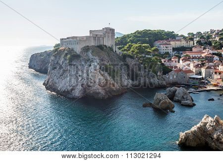 Fortress In Dubrovnik